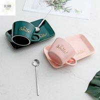 Mugs Phnom Penh Nordic Ins Ceramic Coffee Cup Set Creative Trend Lovers Water Afternoon Tea
