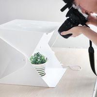 20/30/40cm Portable Lightbox PO Studio Box Tapis Temps de tir de la tente lumineuse Softbox Softbox Set pour les articles Afficher les accessoires d'éclairage