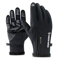 Schneesport-Schutzausrüstung Skihandschuhe Touchscreen wasserdichte Telefinger Winterhandschuhe Windschutz für Männer und Frauen