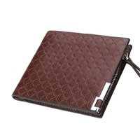 Wallets Fashion Short Bifold Men Soft Leather Wallet Casual Soild With Coin Pocket Purses Male Purse Clutch