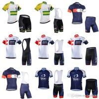 Nuovo arrivo 2018 Team IAM ciclismo maniche corte Jersey Bib Pantaloncini set Traspibile Bike Dry Bike 3d Gel Pad Abbigliamento abbigliamento F0815