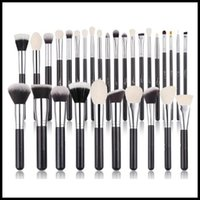 Spazzole per capelli di capra bianca EPACK - 221 219 239 217 168 168 Eyeshadow Blush Contour Blending Beauty Makeup Pennelli
