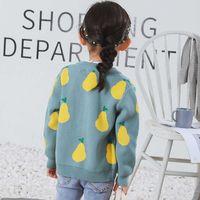 Baby Girls Sweaters Kids Boys Clothes Autumn Cotton Children Knit Coats Fashion Sweater Boys Cardigan Coat 210607
