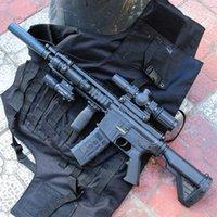 Arma Brinquedo Elétrico M416 Submachine Rifle Sniper Airsoft Cristal Bomba Bola de Água Pistola Arma Modelo Para Adultos Meninos Presentes De Aniversário CS Lutando