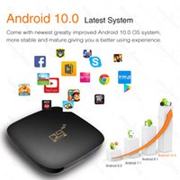 Bluetooth Smart TV Box Sets Android 10 4K HDR 2.4G&5.8G Wifi TV Receiver Media Player 16G 64G Youtube IP TV Box Top Box