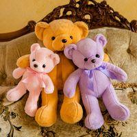35cm Cute Teddy Bear Plush Dolls Soft Stuffed Animals Toys Home Decor Gifts for Kids Girl