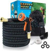 Tuyau de jardin extensible, eau d'étanche et résistance supérieure à résistance à la buse de pulvérisation à haute pression à haute pression