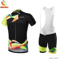 Pro Takımı 2021 erkek Bisiklet Önlüğü Jersey Seti Malciklo Nefes Bisiklet Giyim Bisiklet Sportwear Ropa Ciclista Giysileri.1