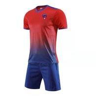 Clermont Ayak Çocuk Futbol Ev Kitleri Eğitim Eşofman Erkekler Jersey Hızlı Kuru Kısa Kollu Futbol Gömlek Özel Logo Açık Spor T Shirt Top Şort