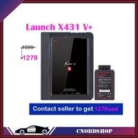 أدوات التشخيص X431 V + V Plus As X-431 Pro3 نظام كامل OBD2 WIFI بلوتوث اللوحي المسح الضوئي أداة 2 سنوات الحرة تحديث PK برو ميني