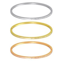Bangle Drills Crystal Stone With White Shell Of Couple Bracelets For Women African Spain Dubai Fashion Jewelry