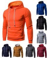 2021 осень и зима новая мужская мода цветной свитер большой размер хеджирования с капюшоном вскользь свитер мужчины