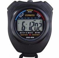Outdoor Sports Tellers Stopwatch Professionele Handheld Digitale LCD-scherm Sport-running Timers Chronograph Teller Timer DWF10772