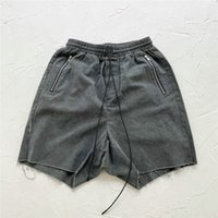 1 Quality Vintage Canvas Sweat Sweats Shorts Fit Zopped Pocket Jogger