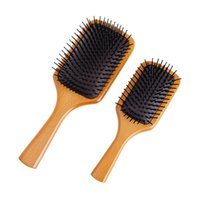 Hair Brushes AVEDA Customized For Massage Wood Big & Small Airbag Comb Anti-static Air Cushion Styling Tools Wholesale
