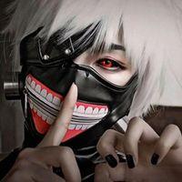 Anime Tokyo Ghoul Kaneki Ken Cosplay Mask Halloween Party Masks Cos-play Costumes