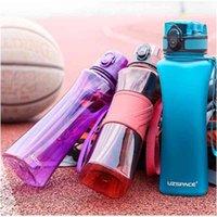 500ml Sport Water Bottle Creative Portable Leakproof Plastic Shaker My Drink Bottle Tour Hiking Tritan BPA