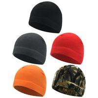Cycling Caps & Masks Outdoor Fleece Sports Hat Men Women Camping Hiking Fishing Hunting Military Tactical Cap Warm Windproof Winter