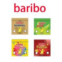Baribo Lezzet 600 mg Mylar Çanta Gummies Baggie Toz Geçirmez Fermuar Paketi Koku Geçirmez Kitaplar Boş Paketleri Tütün Kuru Herb Çiçekler Takı için 2021