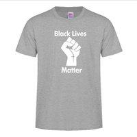 Noir Lives Matteaux T-shirt Casual Col Col T-shirt T-shirt T-shirt pour hommes Femmes 6 couleurs