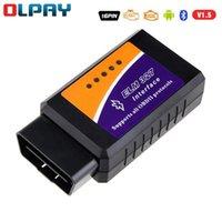 Czytniki kodu Skanowanie Narzędzia MINI ELM327 OBD2 Scanner OBD Bluetooth v1.5 z przełącznikiem USB Auto Diagnise-Tool Reader dla Androida / Windows Englis