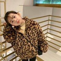 Jackets Girls Baby's Kids Coat Jacket Outwear 2021 Classic Warm Plus Velvet Thicken Winter Autumn Outdoor Fleece Children's Clothes