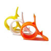 Orange Peeler Kitchen Gadgets Cooking Tools Peeler Parer Finger Type Open Orange Peel Orange Device DH0013