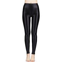 Saten Parlak Külotlu Seksi Çorap Parlak Yoga Pantolon Tayt Spor Tayt Kadın Fitness Yüksek Bel SıkıSsoscer Jersey