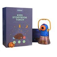 Miderer crianças noite lâmpada de brinquedo lâmpadas de projeção multifuncional do projetor infantil crianças primeiras starlight educacional sonho luminoso brinquedos 0279