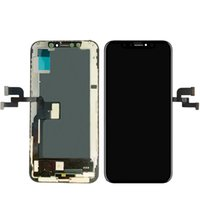 Good quality Phone panels repair to broken lcd screens Digitizer Assembly Replacement for iPhone XS LCDs touch screen display with tools Black
