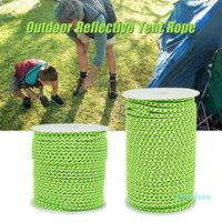 Outdoor Gadgets 20 50m Reflective Tent Rope Nylon Cable Rescue Umbrella Camping Mountaineering Accessories