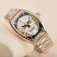 Наручные часы Высокая кабинета Повседневная Спорт FM Часы для мужчин Лучшие механические наручные часы Человек Мода Хронограф Сталь