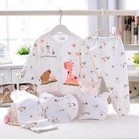 Born Baby Girl Clothes 100% Cotton Infant Clothing Set Brand Boy For Pant Outfit Hat Suit Sets