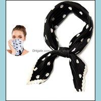 Wraps Hats, Scarves & Gloves Aessorieslightweight Silk Scarf Fashion Bandana Face Mask Reusable Headbands For Women Cloth Bandanas Drop Deli