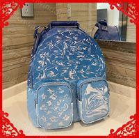 야외 배낭 Luxurys 디자이너 백팩 남성 여성 여행 수하물 숄더 백 패션 대용량 더플 가방 핸드백 지갑 SAC 21022210DQ