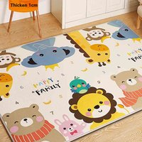 High Quality Carpets Children Carpets Animal Puzzle Game Learning For Baby Games Rectified Carpets In The Children's Room Play Mat A0508