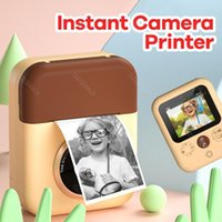 Children Instant Camera Po Printing For Kids 1080P HD Digital Print With Thermal Paper Child Toy Birthday Gifts Printers