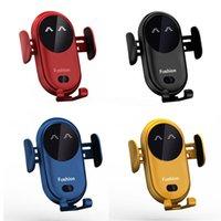 Chargeur de voiture sans fil pour clavier de téléphone portable Capteur infrarouge intelligent 10W charge rapide avec support de téléphone de montage d'air