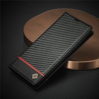 Phone Cases For iPhone 12 11 pro Max XR XS 8 S20 S21 PU Leather Carbon fiber Case Luxury Back Cover with Credit Card Slots