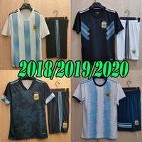 Copa America New 2018 2019 2020 2021 Argentinien Auswärts Fußball Jersey Erwachsene Kits 18 19 20 21 21 Messi Dybala Maradona Aguero di Maria Higuain Football Hemden