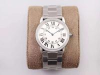 Moda Casal de Aço Inoxidável Relógio é adequado para a festa de casamento dos estudantes desgaste mais pendente, a primeira inserção Swarovski Diamond