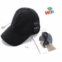 Бейсбол Bluetooth Гарнитура Cap Camera HD 1080P Мини-камера Wi-Fi Сетевой безопасности Домохозяйка NANE Видеокамера Движение Расповедований для дома, Офис или Использование в качестве Sport DV