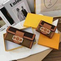 Portefeuille de luxe Sacs à main de luxe Porte-cartes Pu cuir PU en cuir de haute qualité avec boîte à fleurs de boîte Femme Femme Girl Fashion Porte-monnaie Lianjin3128