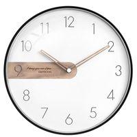 Wall Clock Modern Design Living Room Decoration Watches Home Decor Quartz Silent Clocks For Christmas Gift