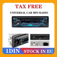 Stereo Bluetooth FM Radio MP3 Audio Player USB SD Port Car In-Dash 1 DIN Auto Electronics Subwoofer Video Est