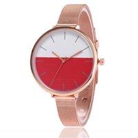 Wristwatches Fashion Brand Ladies WristWatch Retro Rainbow Design Women Dress Watch Quartz Watches Gift For Lovers