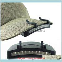 전조등 및 스포츠 옥외 11 LED 모자 모자에 휴대용 헤드 라이트 헤드 램프 클립 낚시 캠핑 하이킹 제품 1 드롭 델리