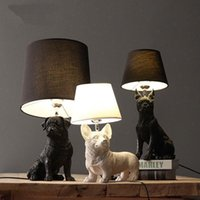 Table Lamps Dog And Puppy Danish Lamp, Animal Bedroom, Bedside Table, Children's Room, Home Decoration Lighting Accessories