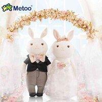 Metao Tiramisu Vestido de conejo Muñeca de boda Boda Regalo de boda Muñeca de juguete de peluche