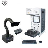 أداة كهربائية مجموعات طابعة TBK DIY CNC قطع الليزر ل 12 12Pro 11 Xsmax X الظهر الزجاج المزيل LCD الإطار إصلاح آلة منفصلة